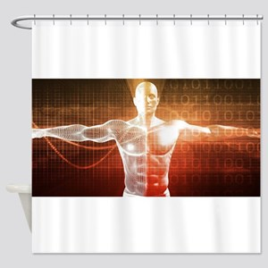 Medical Research o Shower Curtain