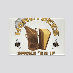 Honeybees Smoke E Magnets