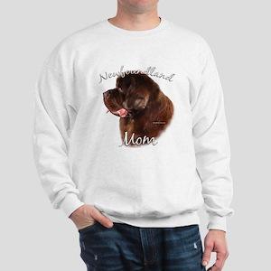 Newfie Mom2 Sweatshirt
