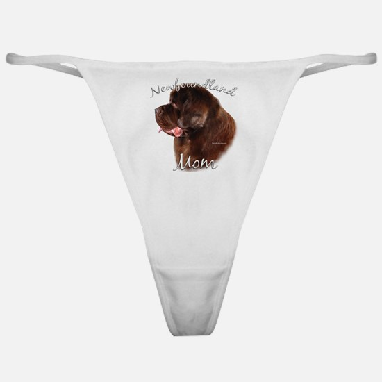 Newfie Mom2 Classic Thong