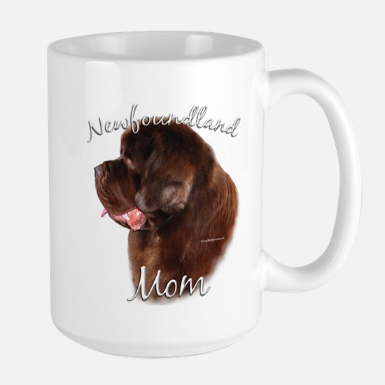 Newfie Mom2 Large Mug
