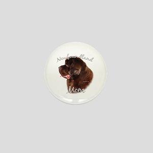 Newfie Mom2 Mini Button