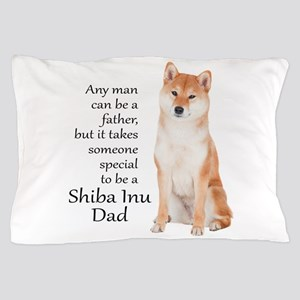 Shiba Inu Dad Pillow Case