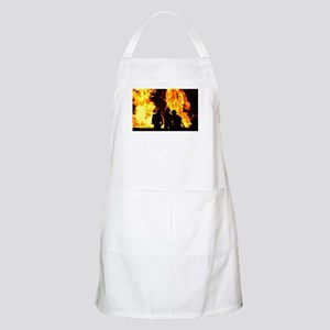 Three firemen Apron