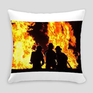 Three firemen Everyday Pillow