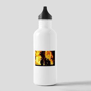 Three firemen Stainless Water Bottle 1.0L