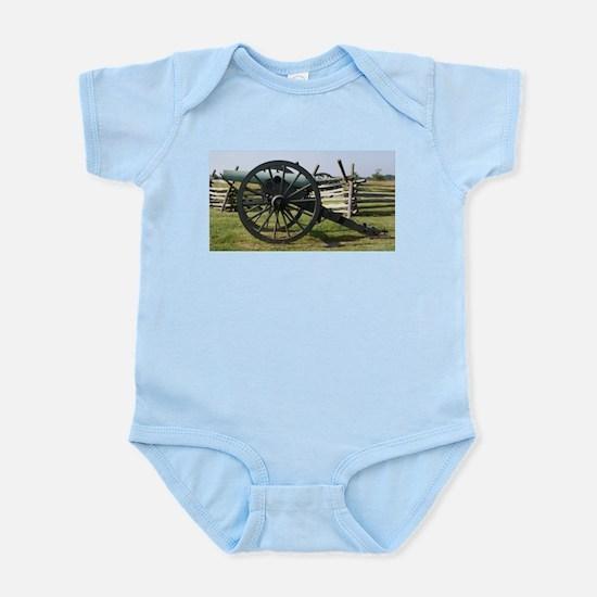 Battlefields of Gettysburg PA Cannon Body Suit
