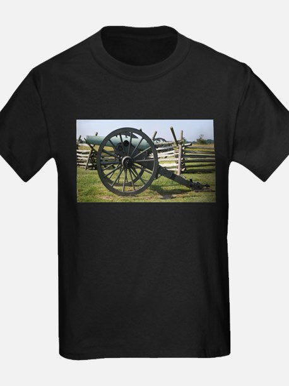 Battlefields of Gettysburg PA Cannon T-Shirt
