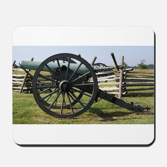 Battlefields of Gettysburg PA Cannon Mousepad