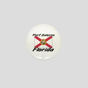 Port Salerno Florida Mini Button
