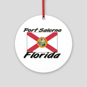 Port Salerno Florida Ornament (Round)
