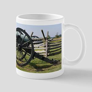 Battlefields of Gettysburg PA Cannon Mugs