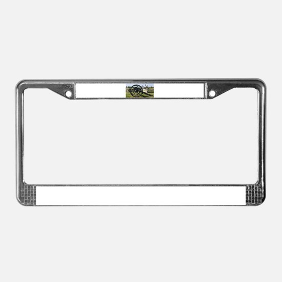 Battlefields of Gettysburg PA License Plate Frame