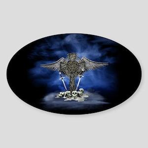 War and Heaven Sticker