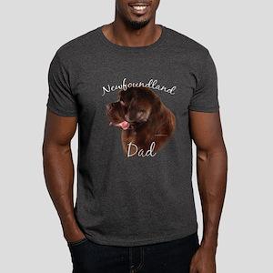Newfie Dad2 Dark T-Shirt