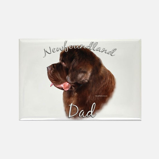 Newfie Dad2 Rectangle Magnet