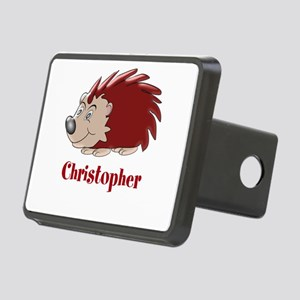 Personalized Hedgehog Rectangular Hitch Cover