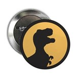 "T Rex Howling 2.25"" Button (100 pack)"