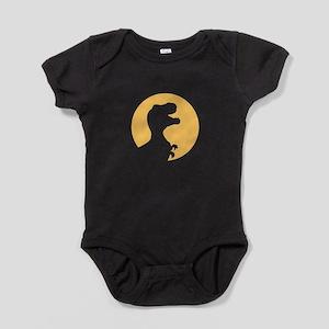 T Rex Howling Baby Bodysuit