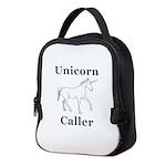 Unicorn Caller Neoprene Lunch Bag