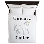 Unicorn Caller Queen Duvet