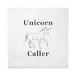 Unicorn Caller Queen Duvet