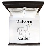 Unicorn Caller King Duvet
