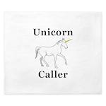 Unicorn Caller King Duvet
