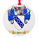 Pert Round Ornament