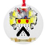 Perssiado Round Ornament