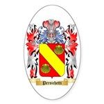 Persichetti Sticker (Oval 50 pk)