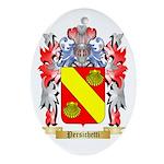 Persichetti Oval Ornament