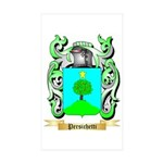 Persichetti 2 Sticker (Rectangle 10 pk)
