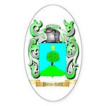 Persichetti 2 Sticker (Oval 50 pk)