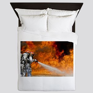 Firefighters in Action Queen Duvet