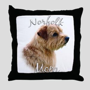 Norfolk Mom2 Throw Pillow