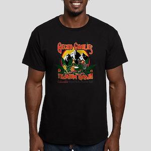 Gecko Charlies Premium Men's Fitted T-Shirt (dark)