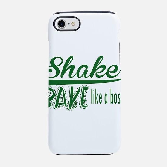 ShakenBake:like a boss iPhone 8/7 Tough Case