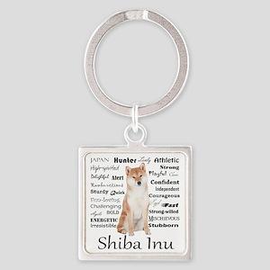 Shiba Inu Traits Keychains