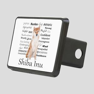 Shiba Inu Traits Hitch Cover