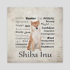 Shiba Inu Traits Queen Duvet
