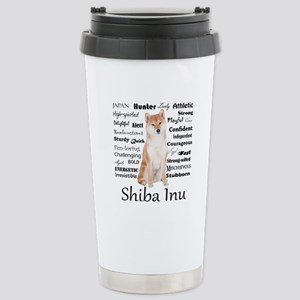 Shiba Inu Traits Travel Mug
