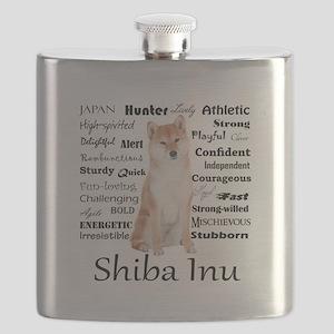 Shiba Inu Traits Flask