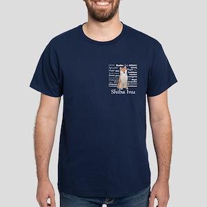 Shiba Inu Traits T-Shirt