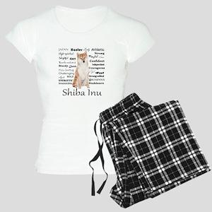 Shiba Inu Traits Pajamas