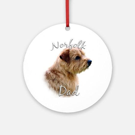 Norfolk Dad2 Ornament (Round)