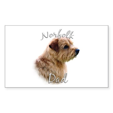 Norfolk Dad2 Rectangle Sticker