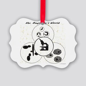 Ms. BugLady's World - Official Lo Picture Ornament