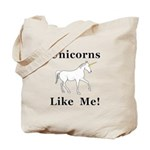Unicorns Like Me Tote Bag