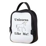 Unicorns Like Me Neoprene Lunch Bag